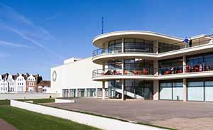 The De La Warr pavilion in Bexhill-on-Sea